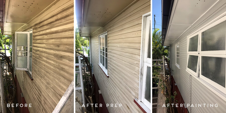 Removal of Mould from house at East Brisbane