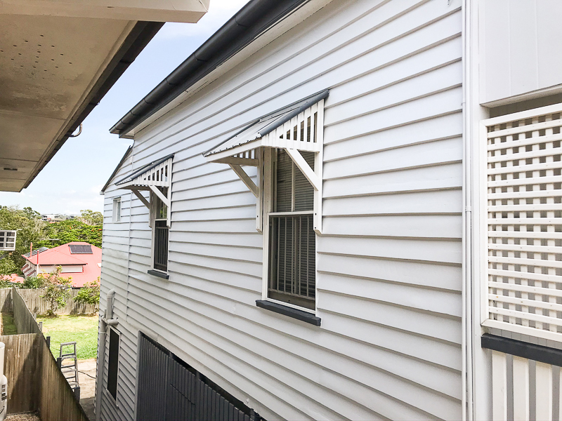 Painting completed on rental property at coorparoo